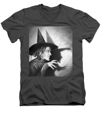 Wicked Witch Of The West Men's V-Neck T-Shirt