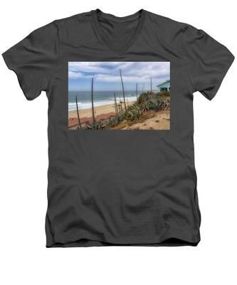 Windy On Redondo Men's V-Neck T-Shirt