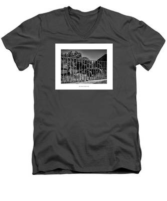 Your Time Is Gonna Come Men's V-Neck T-Shirt by Joseph Amaral