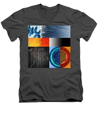Nocturne I Men's V-Neck T-Shirt