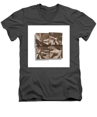 Agaves Men's V-Neck T-Shirt