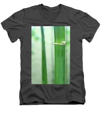 Bamboo 0312 Men's V-Neck T-Shirt