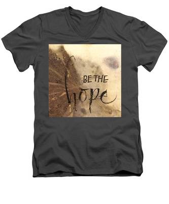 Be The Hope Men's V-Neck T-Shirt