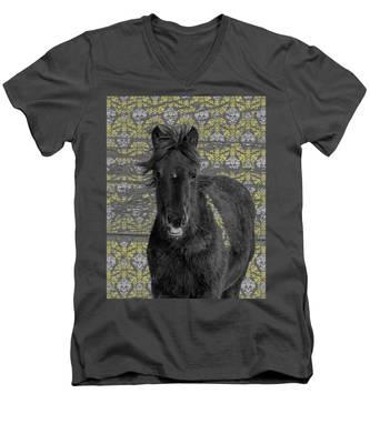 Blackie Men's V-Neck T-Shirt