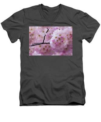 Cherry Blossom 8624 Men's V-Neck T-Shirt