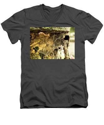Cobweb Men's V-Neck T-Shirt