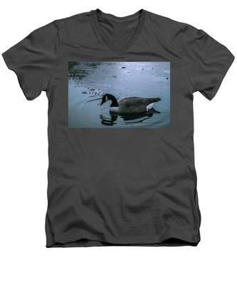 Cold Men's V-Neck T-Shirt