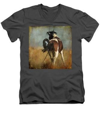 Dance Men's V-Neck T-Shirt