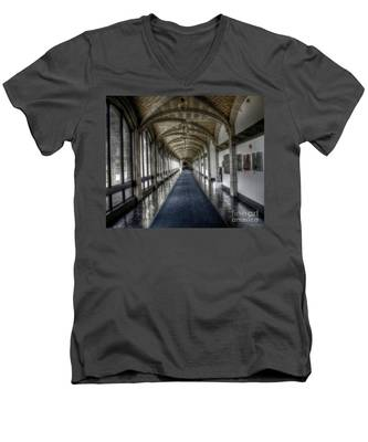Down The Hall Men's V-Neck T-Shirt