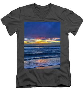 Entering The Blue Hour Men's V-Neck T-Shirt