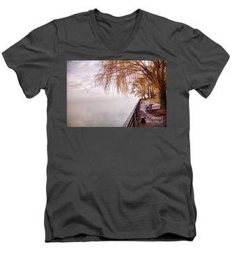 Foggy Niagara Men's V-Neck T-Shirt
