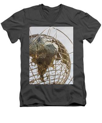 Globe 1 Men's V-Neck T-Shirt