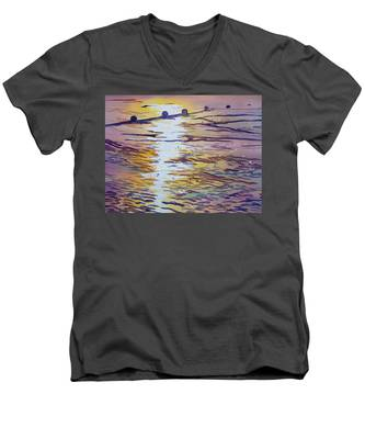 Groynes And Glare Men's V-Neck T-Shirt