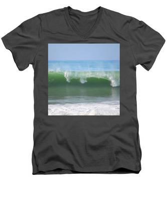 Half Monn Breaker Men's V-Neck T-Shirt