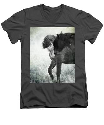 Intimacy Before Battle Men's V-Neck T-Shirt