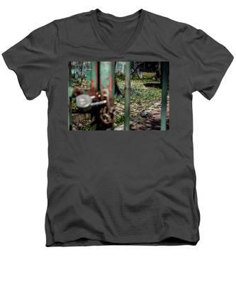 No Admittance Men's V-Neck T-Shirt