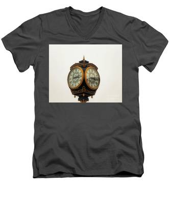 Outside Timepiece Men's V-Neck T-Shirt