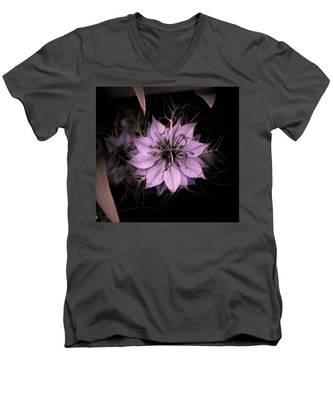 Purple Peculiarity Men's V-Neck T-Shirt