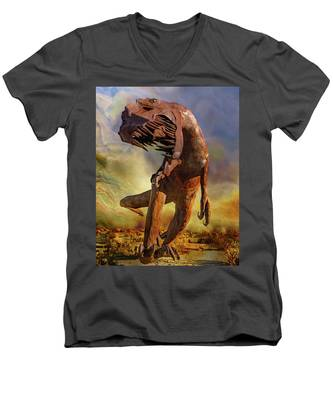 Raaawwwrrr Men's V-Neck T-Shirt