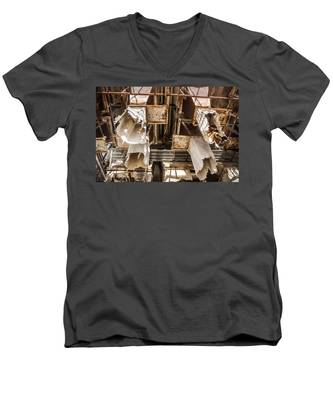 The Ghost Of Factories Past Men's V-Neck T-Shirt