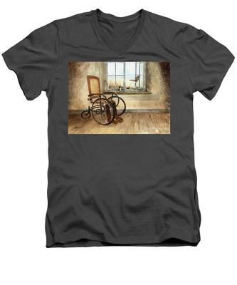 Transitioning Men's V-Neck T-Shirt