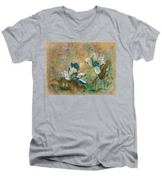 The Turquoise Incarnation Men's V-Neck T-Shirt