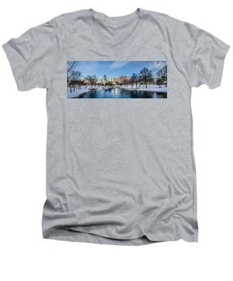 Charlotte Downtown Men's V-Neck T-Shirt