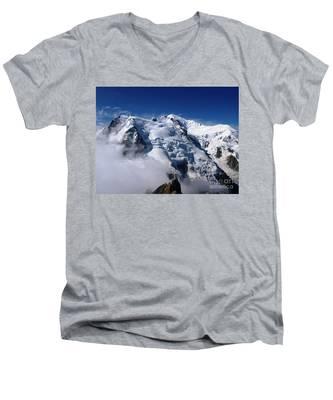Mont Blanc - France Men's V-Neck T-Shirt