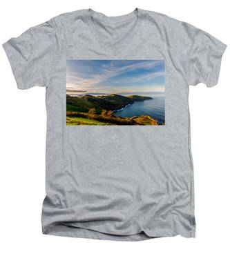 Men's V-Neck T-Shirt featuring the photograph Out Bond To The Sea by Joseph Amaral