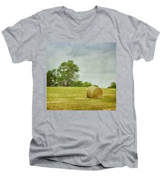 A Day At The Farm Men's V-Neck T-Shirt
