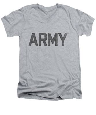 Military V-Neck T-Shirts