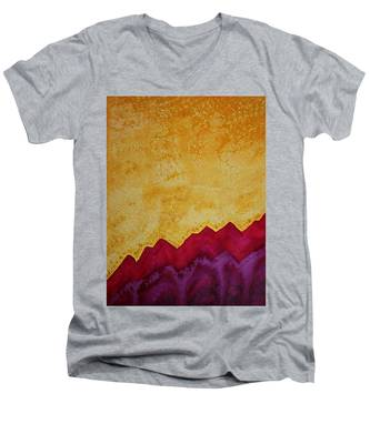 Ascension Original Painting Men's V-Neck T-Shirt