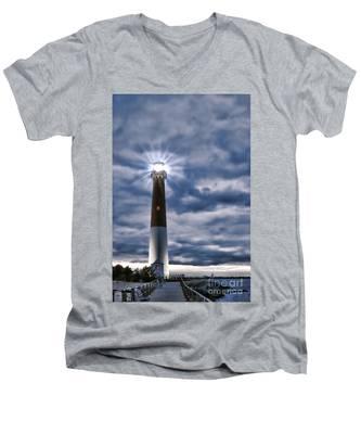 Barnegat Magic Men's V-Neck T-Shirt