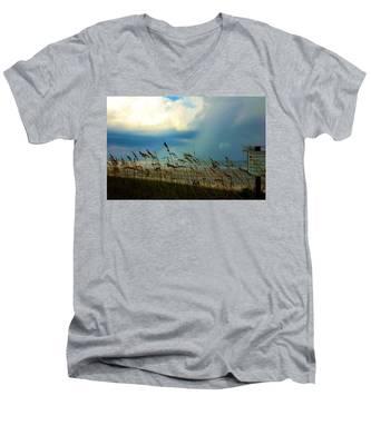Blue Sky Above Men's V-Neck T-Shirt