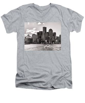 Boston Men's V-Neck T-Shirt