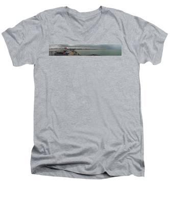 Brewing A Storm Men's V-Neck T-Shirt