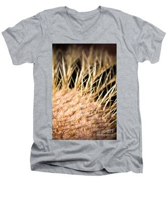 Cactus Skin Men's V-Neck T-Shirt