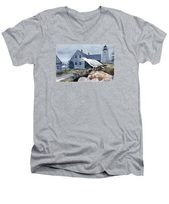 Castine Call Men's V-Neck T-Shirt