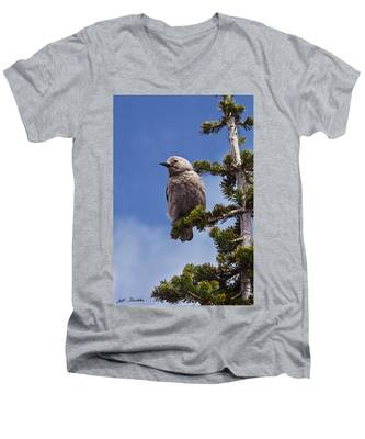 Clark's Nutcracker In A Fir Tree Men's V-Neck T-Shirt