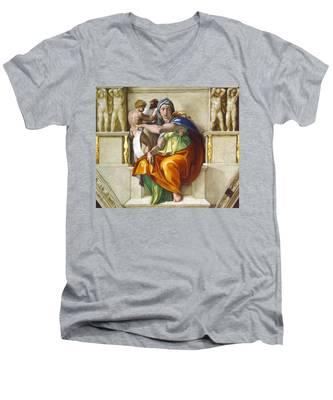 Delphic Sybil Men's V-Neck T-Shirt