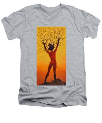 Dryad Men's V-Neck T-Shirt