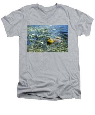 Frog Song Men's V-Neck T-Shirt
