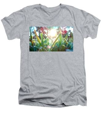 Frosty Flare Men's V-Neck T-Shirt