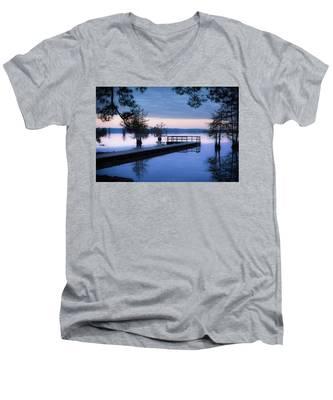 Good Morning For Fishing Men's V-Neck T-Shirt