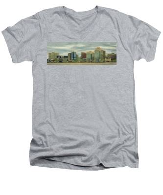 Halifax From The Harbour Men's V-Neck T-Shirt