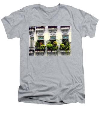 Havana Windows Men's V-Neck T-Shirt