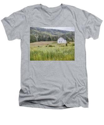 Idyllic Isolation Men's V-Neck T-Shirt