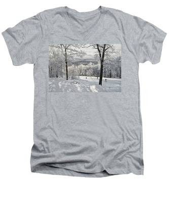 Jack Rabbit Men's V-Neck T-Shirt