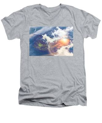 Journey To Another Dimension Men's V-Neck T-Shirt