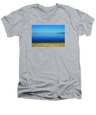 Overflow Men's V-Neck T-Shirt